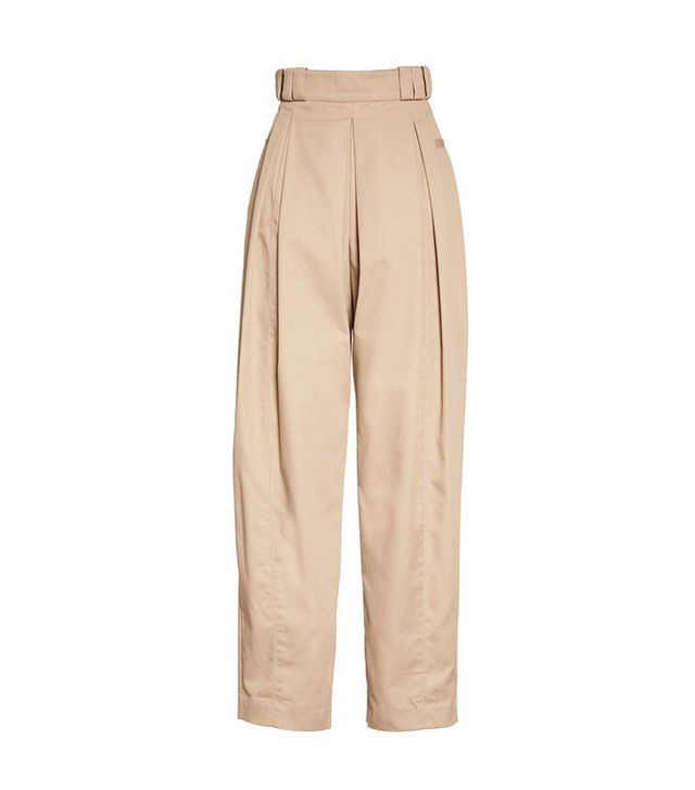 Alexander Wang High Waist Tech Twill Pants
