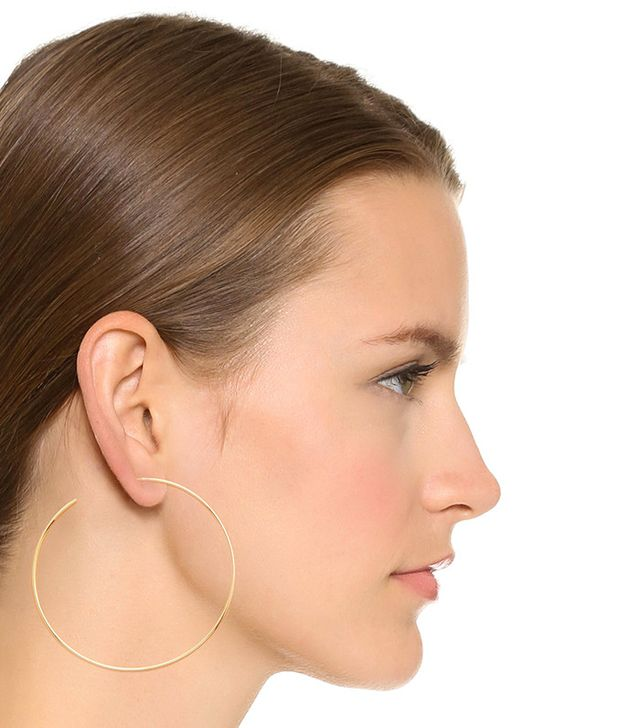 Cloverpost Large Circuit Hoop Earrings