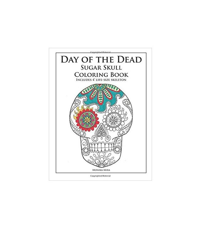 Day of the Dead Sugar Skull Coloring Book by Monika Mira