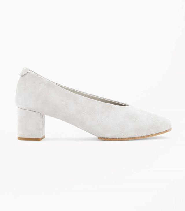 COS Slip On Suede Shoes