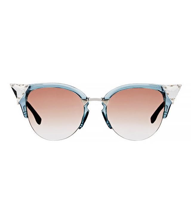 Fendi Jewel-Bead-Embellished Sunglasses