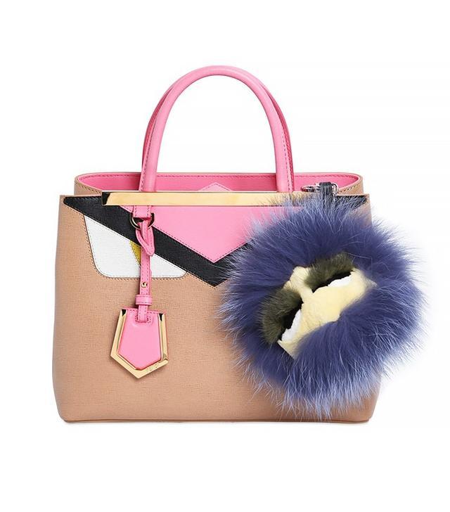 Fendi Bag Monster Fur Charm