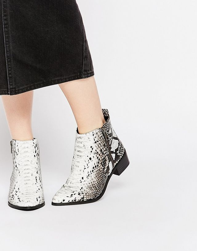 ASOS Pointed Ankle Boots