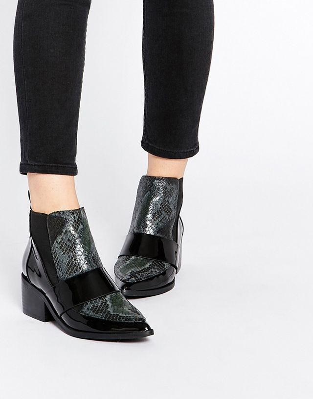 ASOS Pointed Chelsea Ankle Boots