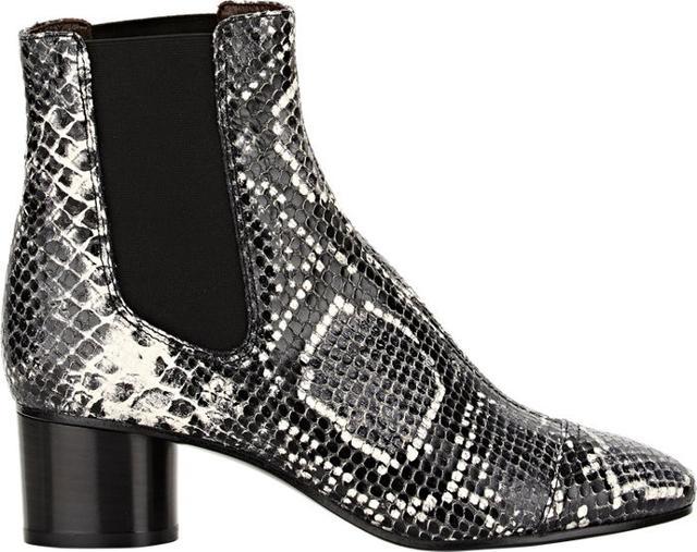 Isabel Marant Python-Stamped Danae Boots