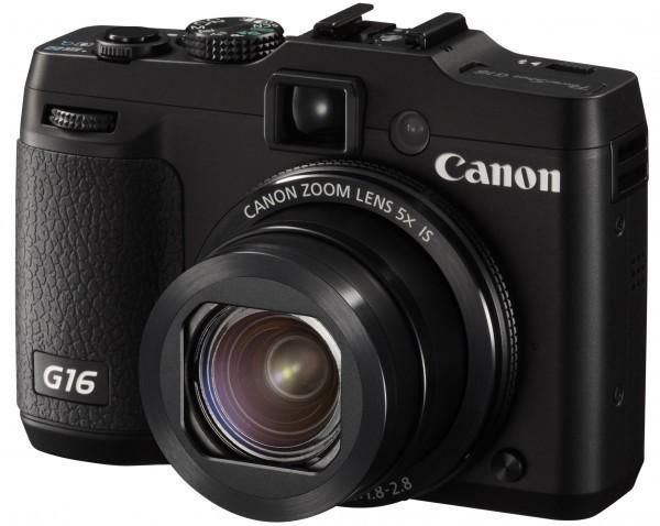 Canon PowerShot G16 Digital Compact Camera
