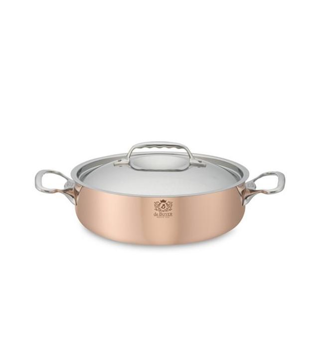 Williams-Sonoma de Buyer Prima Matera Copper Sauteuse