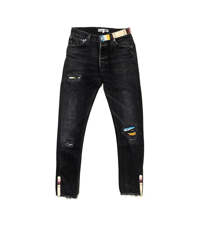 Re/Done | Pamela Love Straight Skinny Jeans