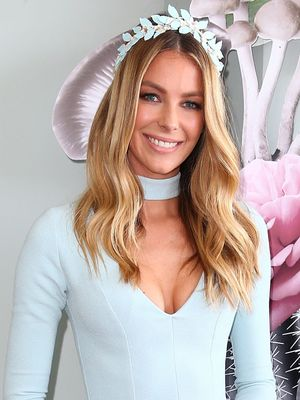 You Have to See the Sleeves on Jennifer Hawkins' Oaks Day Dress