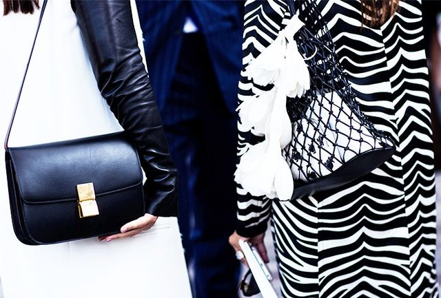 Style Notes: If in doubt, wear your zebra coat with monochrome. It works.