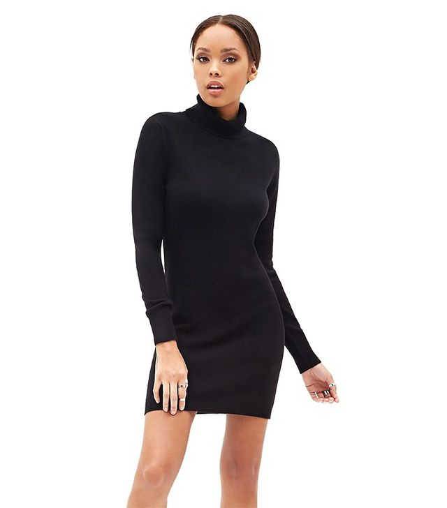 Forever 21 Turtleneck Sweater Dress