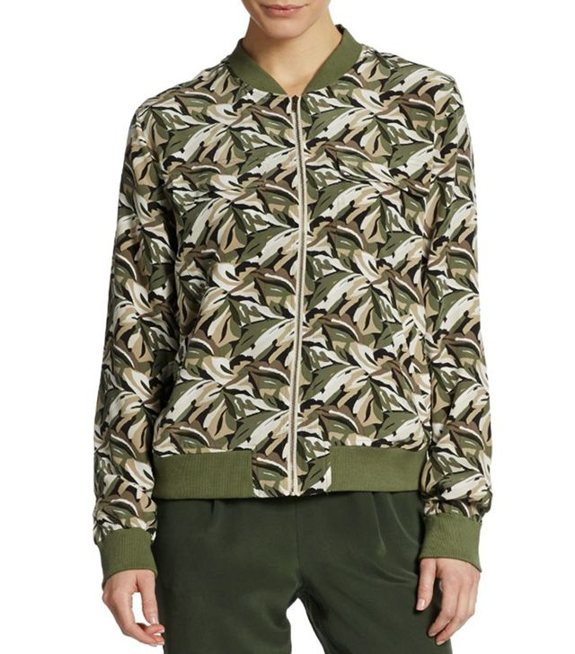 Equipment Abbot Leaf Bomber Jacket