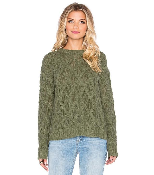 Tularosa x Revolve Lisbon Cross Hatch Sweater