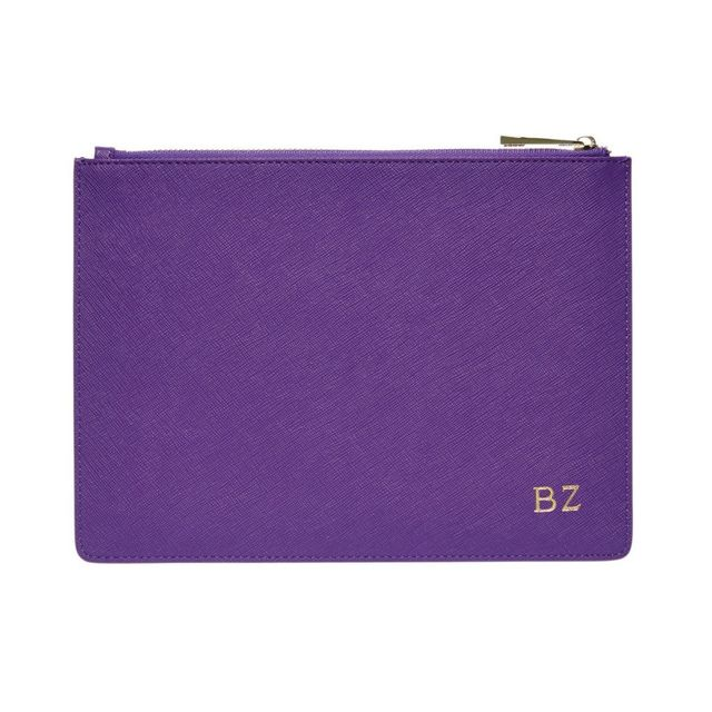 The Daily Edited Royal Purple Pouch
