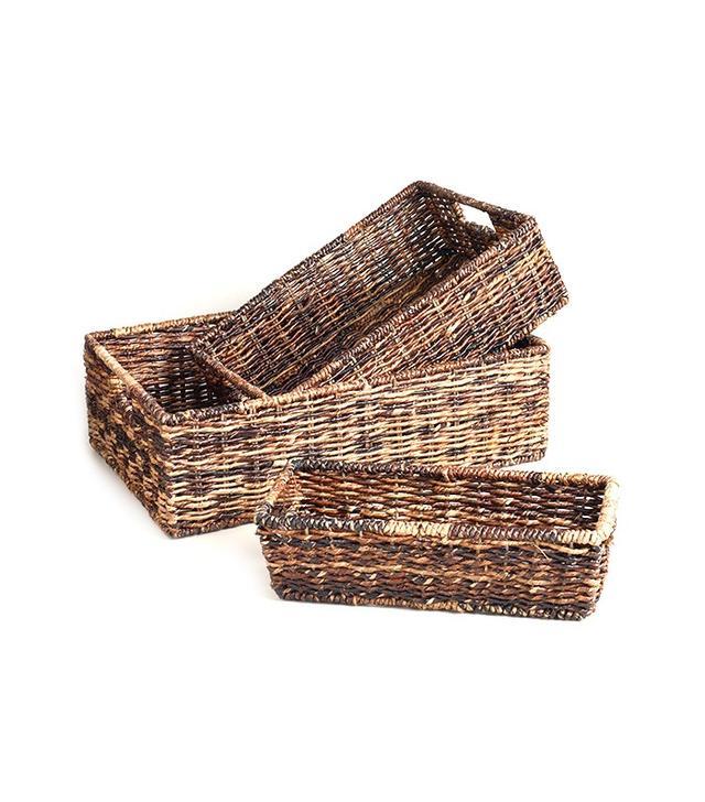 World Market Madras Storage Baskets