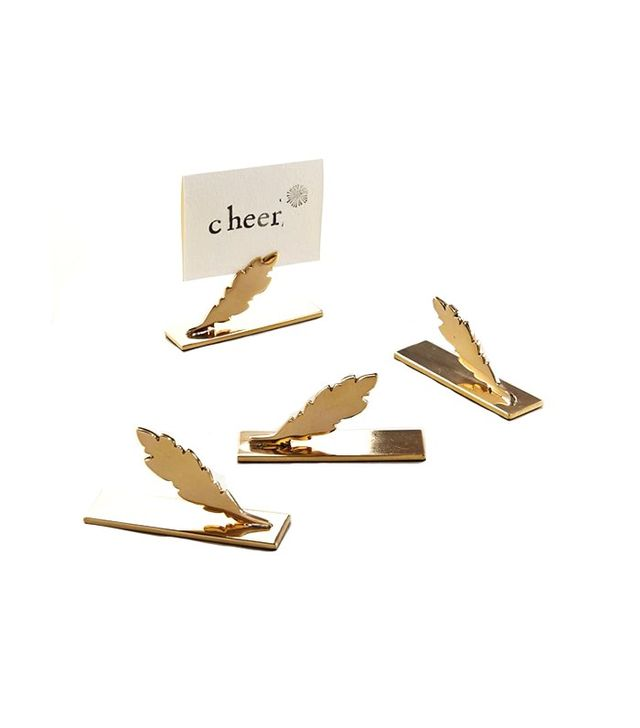 West Elm Decked Out Feather Place Card Holders