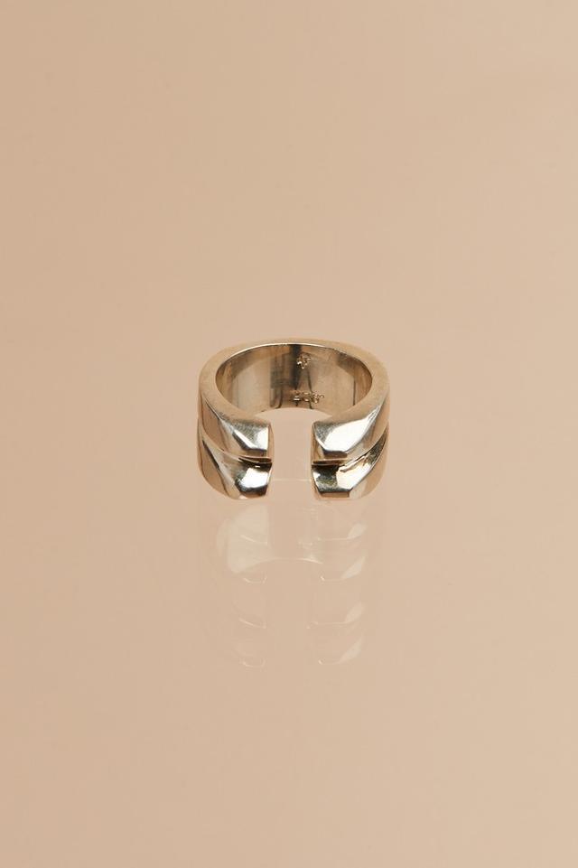 MF by Meghan Farrell Sterling Silver Ribbs Ring