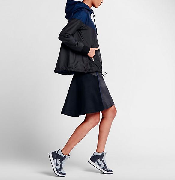 NikeLab x Sacai Windrunner Pleated Jacket