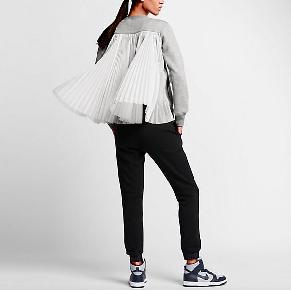 NikeLab x Sacai Tech Fleece Pleated Back Jacket