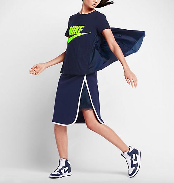 NikeLab x Sacai Cape T-Shirt