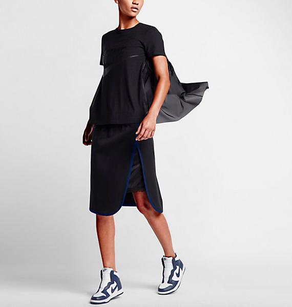 NikeLab x Sacai Tech Fleece Skirt