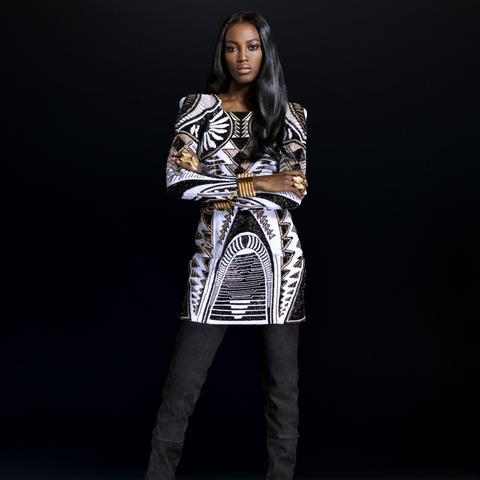 Balmain x H&M Look 12