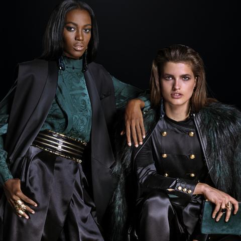 Balmain x H&M Look 16