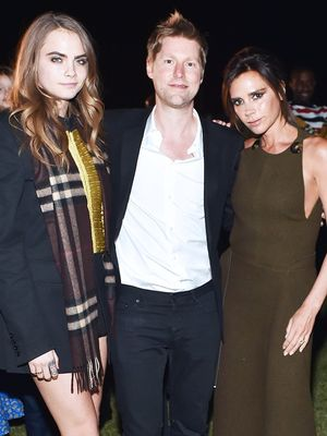Victoria Beckham Teams Up With Christopher Bailey