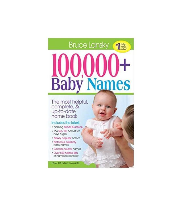 100,000 Plus Baby Names by Bruce Lansky
