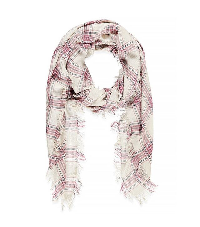 Forever 21 Classic Plaid Scarf