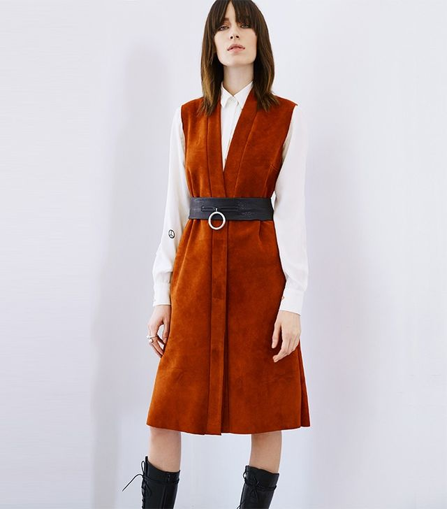 Veda View Suede Dress