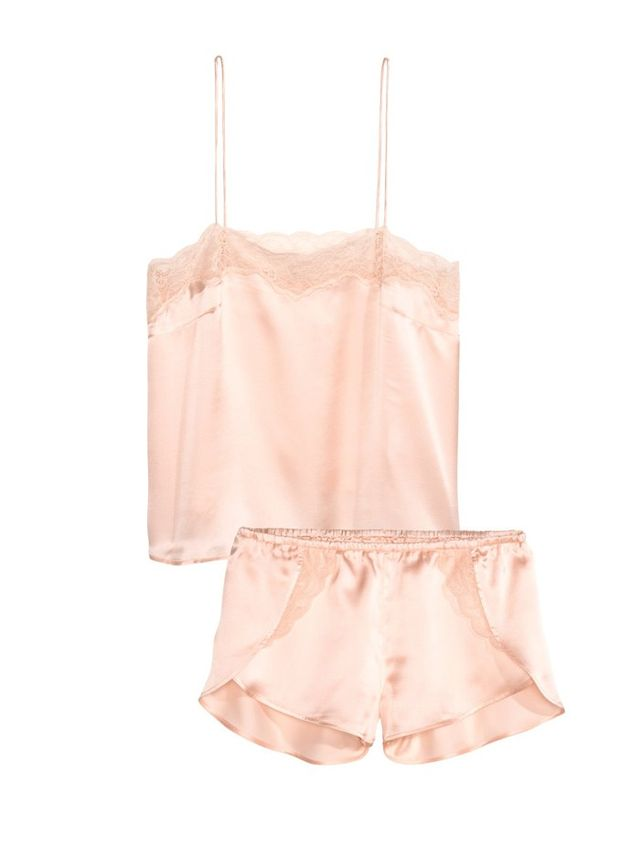 H&M Silk Satin Pajamas