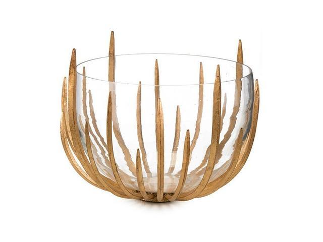 John-Richard Collection Gold Star-Struck Bowl