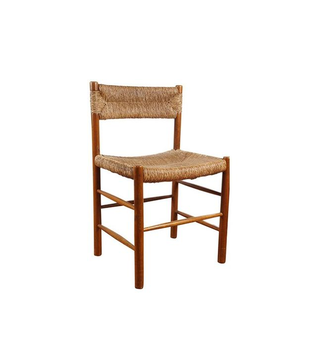 Vintage French Woven Dining Chair