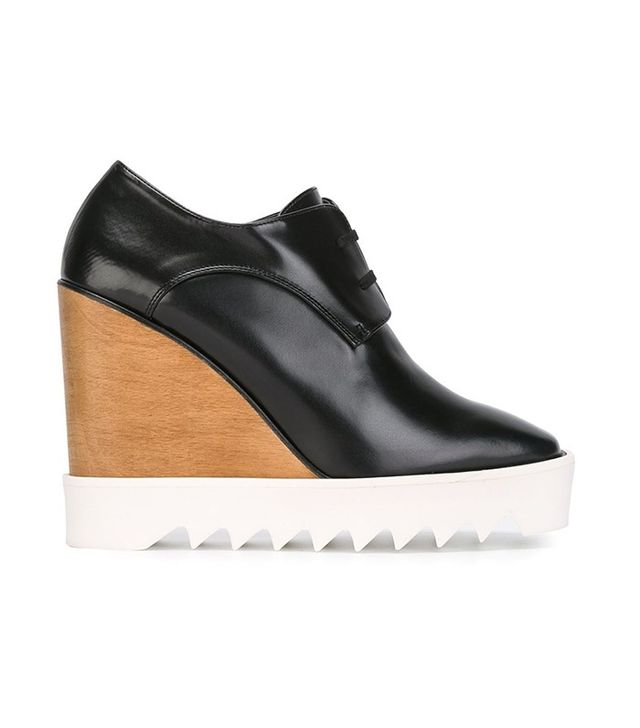 Stella McCartney Wedge Lace-Up Shoes