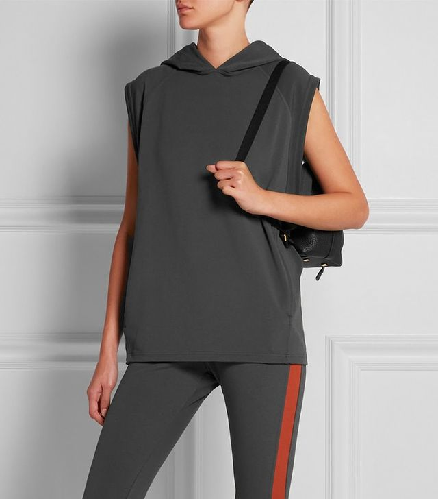 LAAIN Stretch Jersey Hooded Top