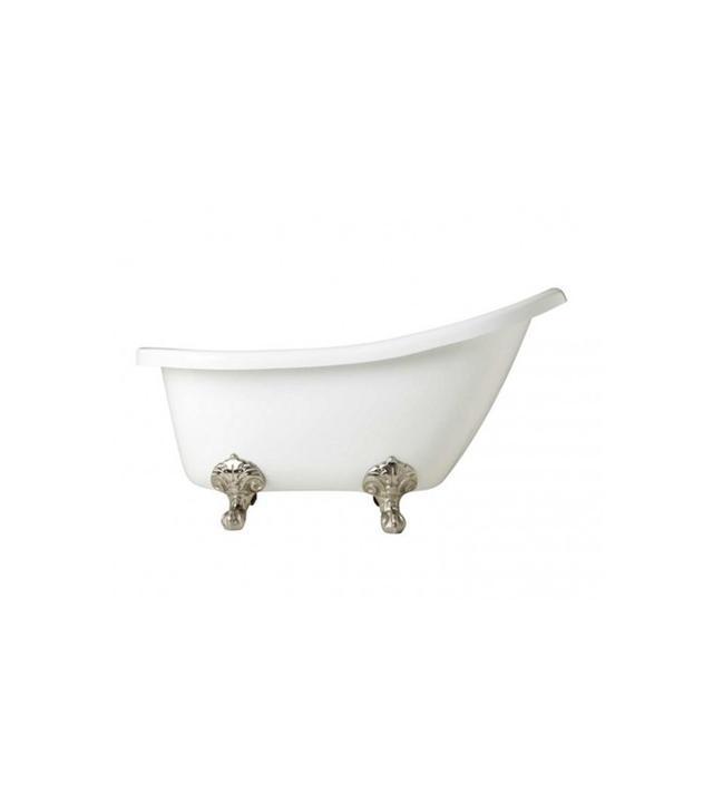 Signature Hardware Victorian Acrylic Slipper Clawfoot Tub