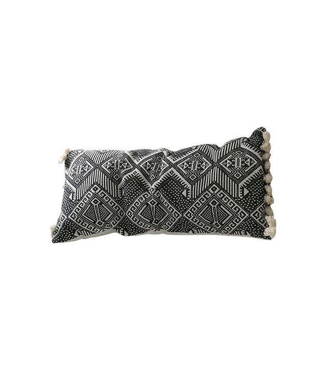 Magical Thinking Black + White Rectangle Pillow