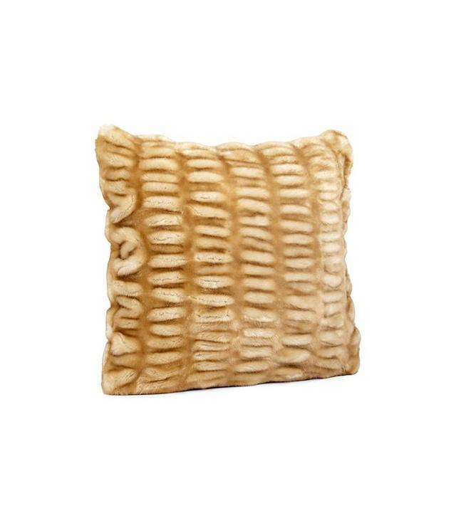 Hudson Park Long Hair Decorative Pillow