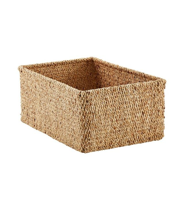 The Container Store Sonoma Water Hyacinth Bins