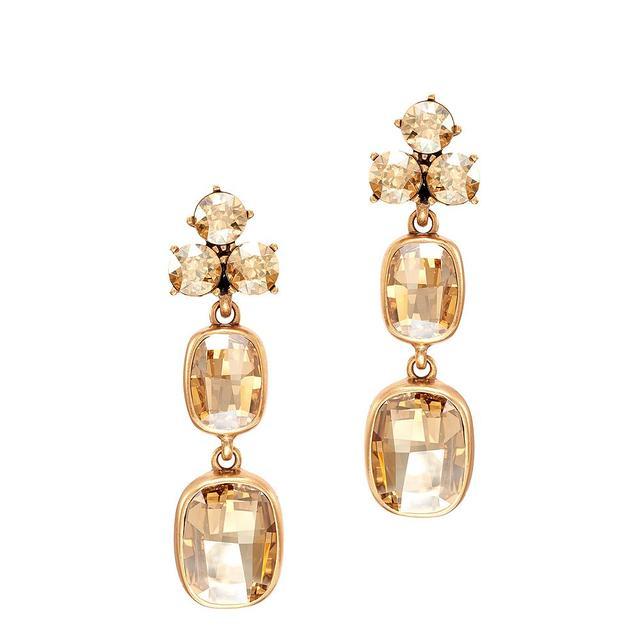 Oscar de la Renta for Cadenzza Opulent Earrings