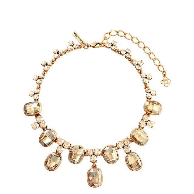 Oscar de la Renta for Cadenzza 14K Gold-Plated Necklace