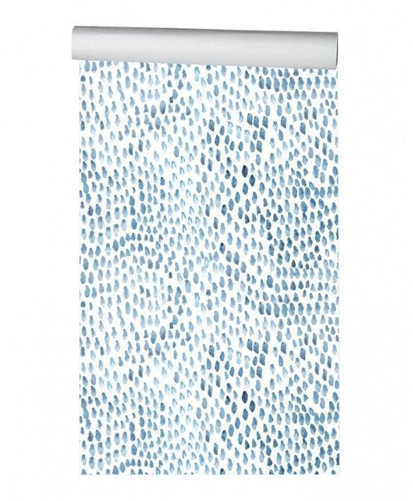 "Hygge & West ""Raindrops"" Wallpaper Tile"