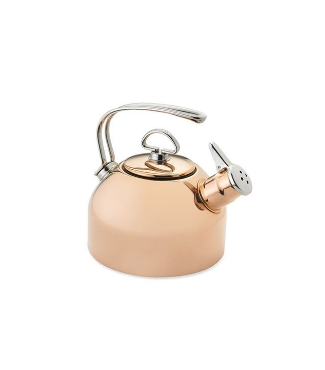 Williams-Sonoma Chantal Copper Whistling Tea Kettle in Copper