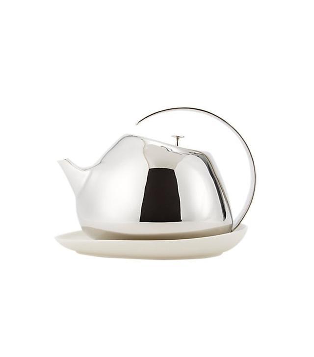 Georg Jensen Helen Teapot and Coaster Set