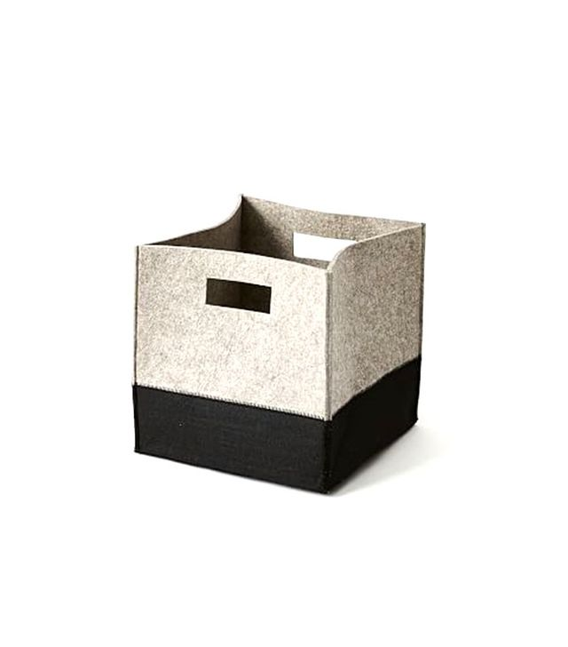 West Elm Felt Storage Bin