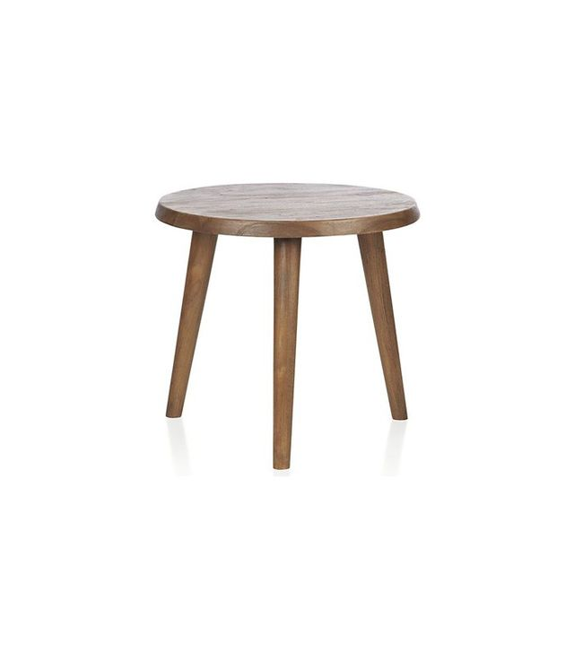 Crate and Barrel Edgewood Round Side Table