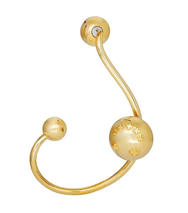 Paige Novick for Tibi Yellow Gold Proton Ear Cuff