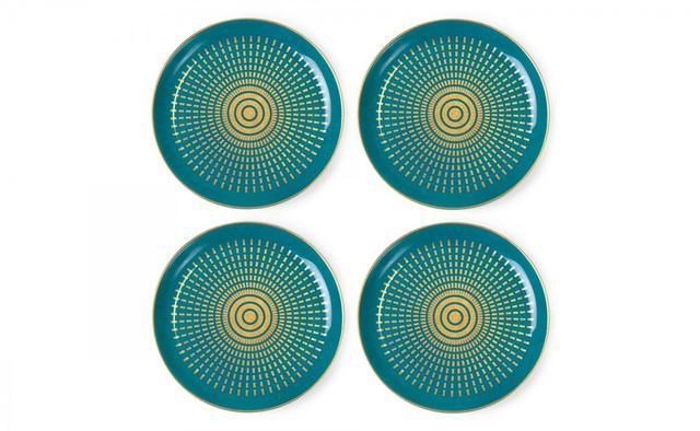 Jonathan Adler Santorini Coaster 4 Set