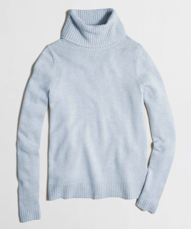 J.Crew Factory Rolled Turtleneck Sweater
